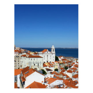Alfama, Lisbon, Portugal Carte Postale