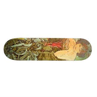 Alfons vintage M. Mucha Skateboard