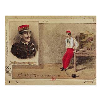 Alfred Dreyfus en tant que prisonnier, 1894-1906 Carte Postale