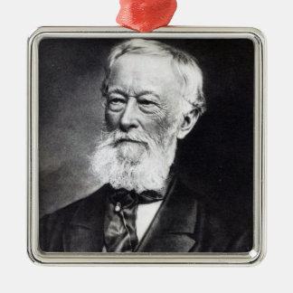 Alfred Krupp Ornement Carré Argenté