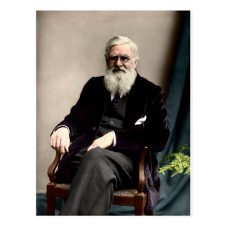 Alfred Russel Wallace c1895 Carte Postale