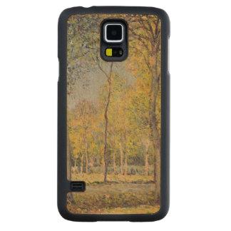 Alfred Sisley | le Bois de Boulogne Coque Slim Galaxy S5 En Érable