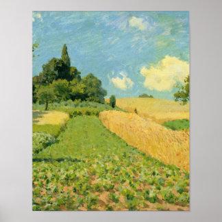 Alfred Sisley | le champ de maïs Posters