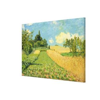 Alfred Sisley | le champ de maïs Toiles