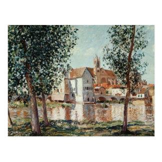 Alfred Sisley   le Loing chez Moret Carte Postale