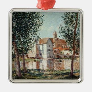 Alfred Sisley | le Loing chez Moret Ornement Carré Argenté
