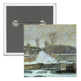 Alfred Sisley | l'endroit d'arrosage à Badge