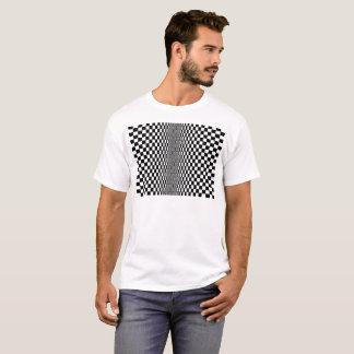 Algorithme d'art op t-shirt