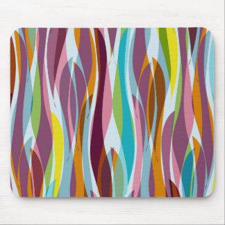 Algue abstraite tapis de souris