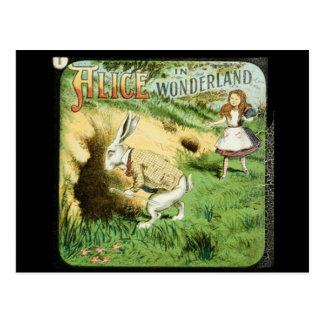 Alice au pays des merveilles cartes postales