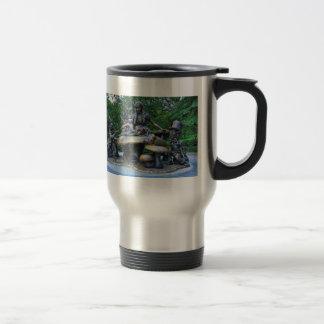 Alice au pays des merveilles - Central Park NYC Mug De Voyage