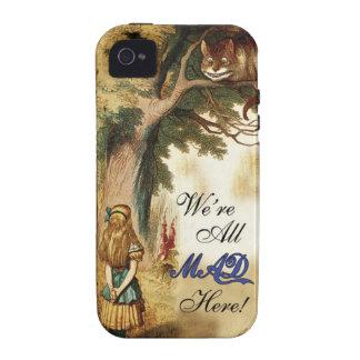 Alice au pays des merveilles étaient toute folle i coques vibe iPhone 4