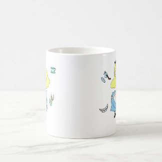 Alice au pays des merveilles mug blanc