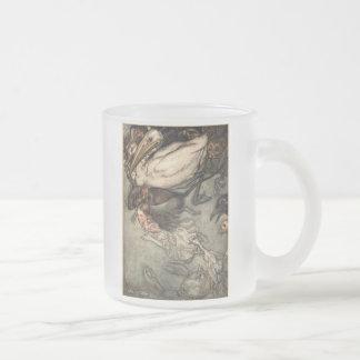 Alice au pays des merveilles mug en verre givré