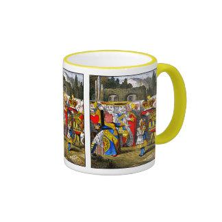 Alice au pays des merveilles - reine des coeurs - mug ringer