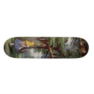 Alice au pays des merveilles SkakeBoard pro Skateboards Personnalisés