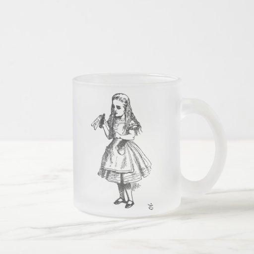 Alice au pays des merveilles tasses à café