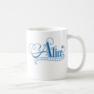 Alice au pays des merveilles tasse à café