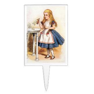 Alice - buvez-moi - Gâteau Topper Étiquettes À Gâteau