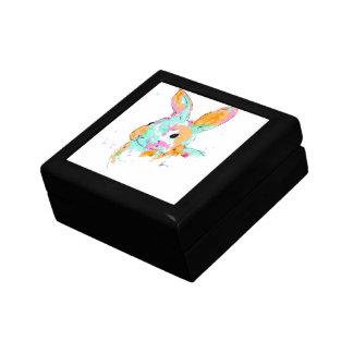 Alice dans des conceptions de couleur d'eau du boîte à souvenirs