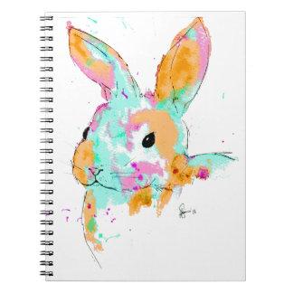 Alice dans des conceptions de couleur d'eau du carnet