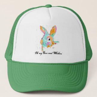 Alice dans des conceptions de couleur d'eau du casquette