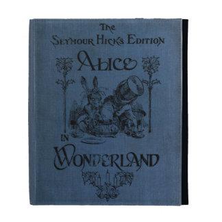 Alice dans la couverture de livre du pays des merv coques iPad