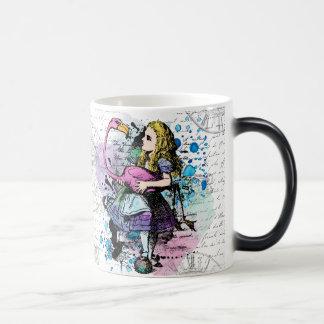 Alice dans la tasse morphing du pays des
