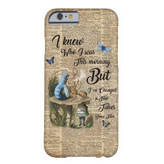 Alice dans l'art vintage de dictionnaire de coque barely there iPhone 6
