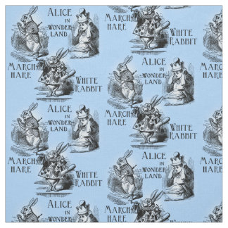 Tissu lapin blanc personnalisable pour loisirs cr atifs for Alice dans le miroir balthus