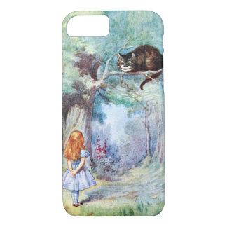 Alice dans le cas de l'iPhone 7 de chat de Coque iPhone 8/7