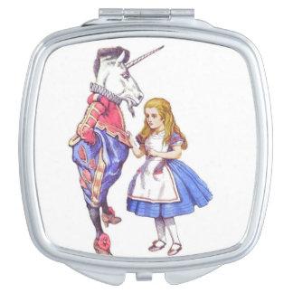 Miroirs compacts designs pour miroirs for Alice dans le miroir balthus