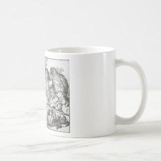 Alice dans le rassemblement du pays des merveilles mug à café