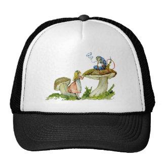 Alice demande l'avis de la chenille casquettes de camionneur