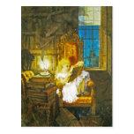 Alice en carte postale du pays des merveilles :  L