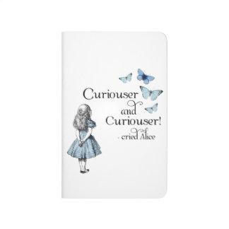 Alice en journal plus curieux de papillon du pays
