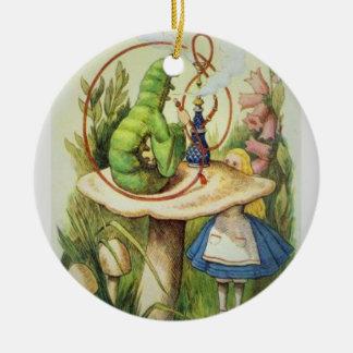 Alice en ornement 2017 de Noël du pays des