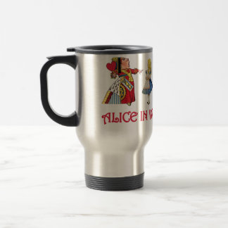 Alice et amis au pays des merveilles tasse à café