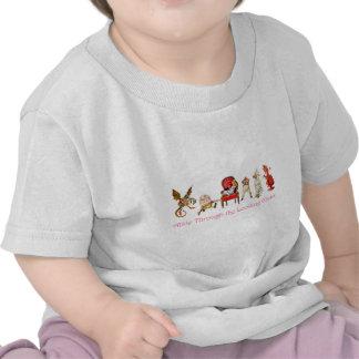 Alice et amis par le psyché t-shirt
