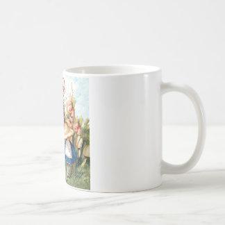Alice et Caterpillar au pays des merveilles Mugs À Café
