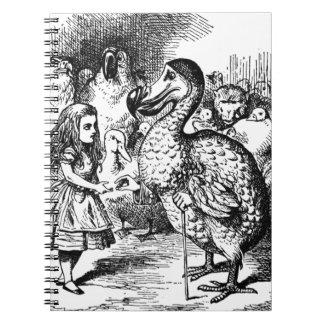 Alice et la dronte carnet