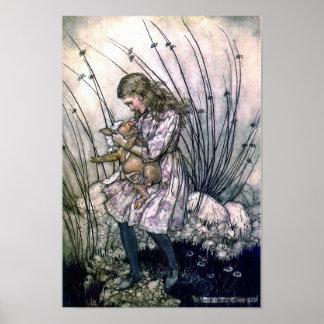 Alice et le bébé de porc posters
