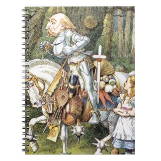 Alice et le chevalier blanc carnet