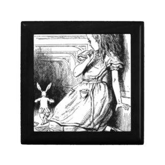 Alice et le lapin blanc boîte à souvenirs