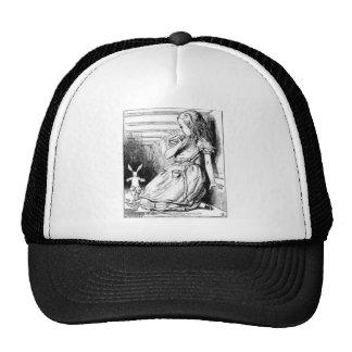 Alice et le lapin blanc casquettes de camionneur