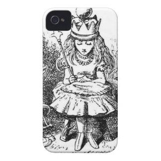 Alice et le Queens Coque iPhone 4