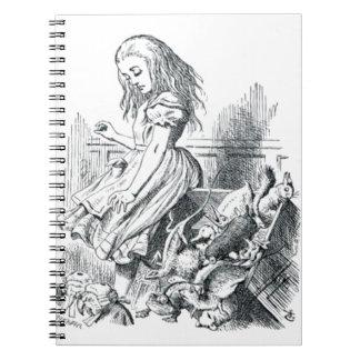 Alice et les écureuils carnet