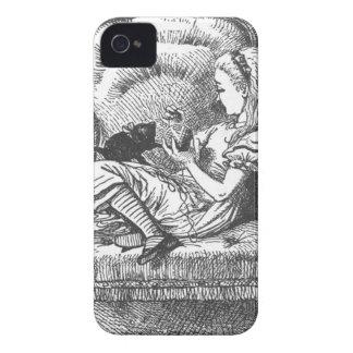 Alice et son chaton coques iPhone 4