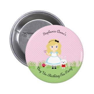 Alice et son thé badge