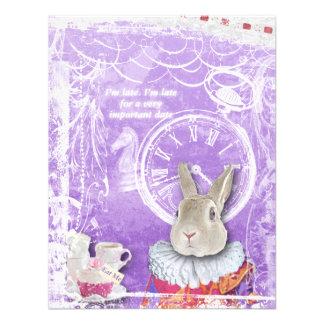 Alice mignonne en collage nuptiale de douche du pa faire-part